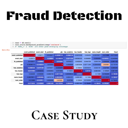 Fraud Detection Case Study