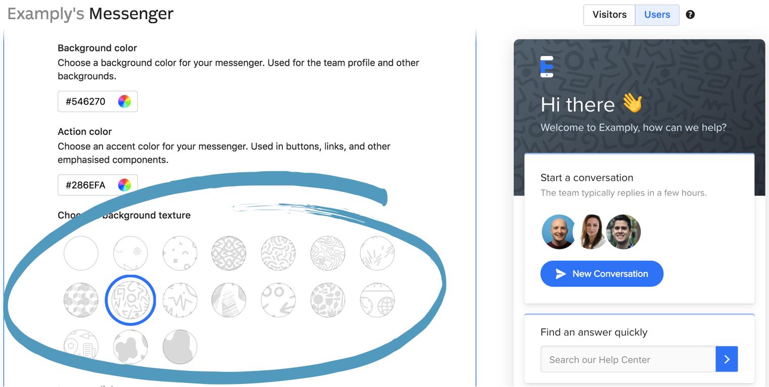 Customize The Intercom Messenger Basics Intercom Help Center