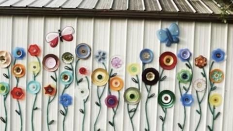 11 Easy Yard Art Ideas