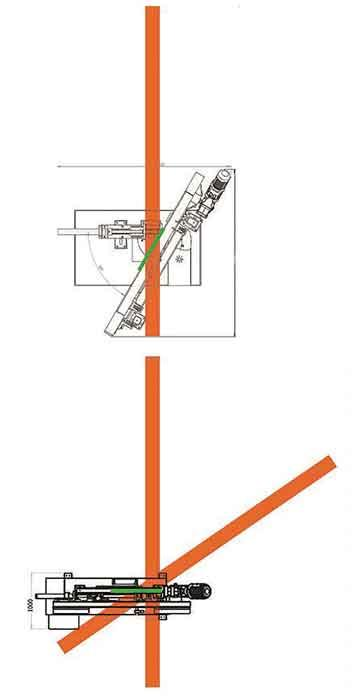 Miter saw diagram
