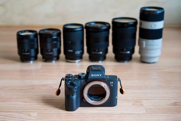 انواع لنز دوربین های دیجیتال