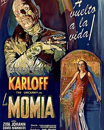 La momia (1932, Karl Freund)