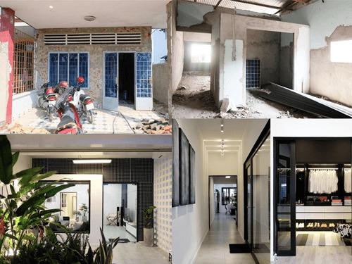 Một số lưu ý và kinh nghiệm khi cải tạo nhà lô phố