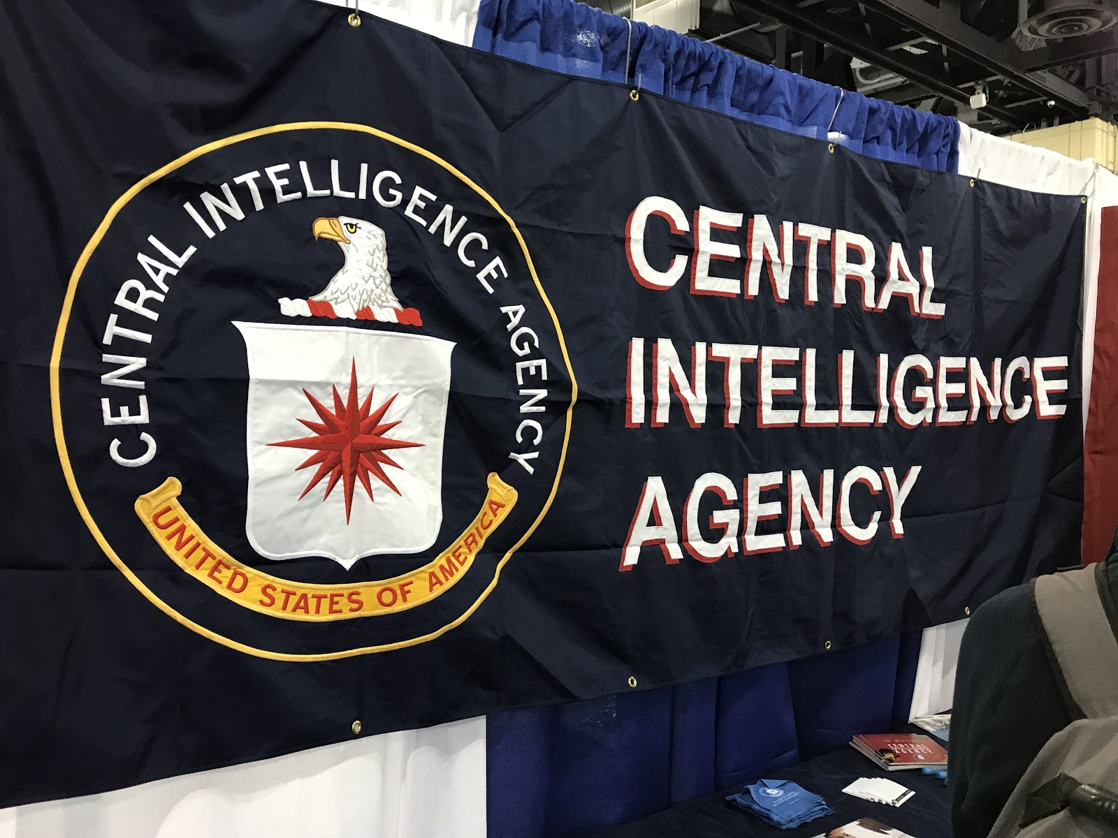 Conference Exhibitions Include Tech, Education, and CIA Recruitment?