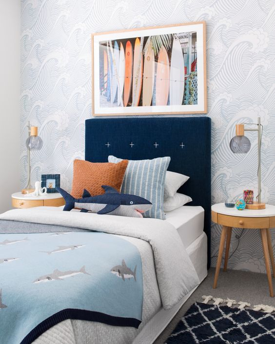 Fishes Display for Neutral Bedroom Ideas