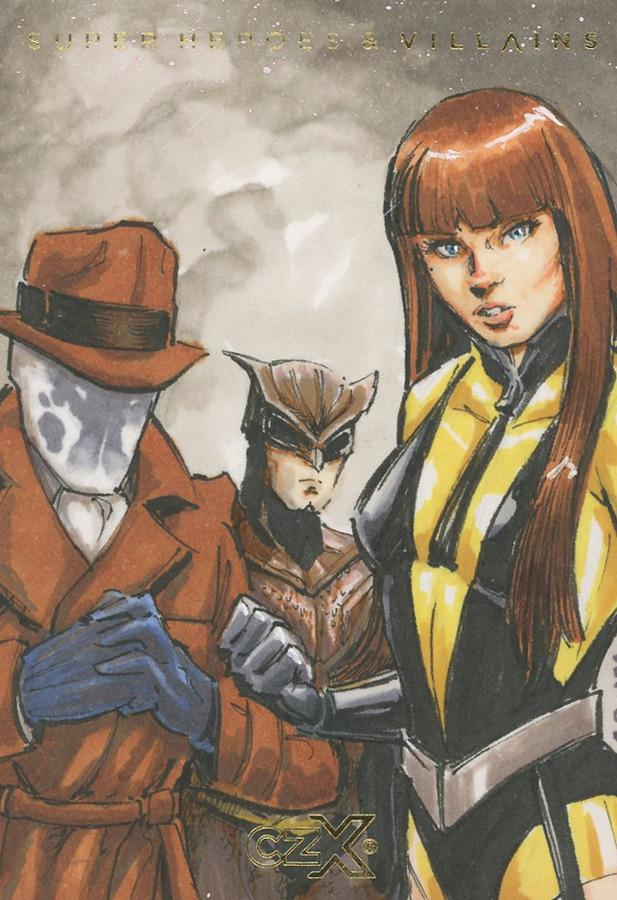 CZX Super Heroes & Super-Villains - Sketch Card