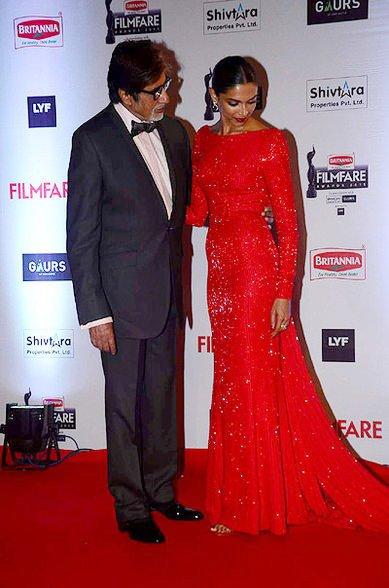 . Amitabh Bachchan and Deepika Padukone