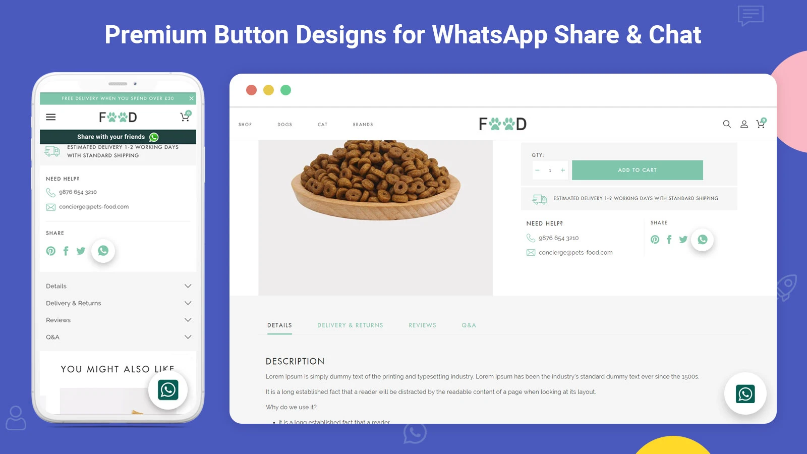 awesome Social share app