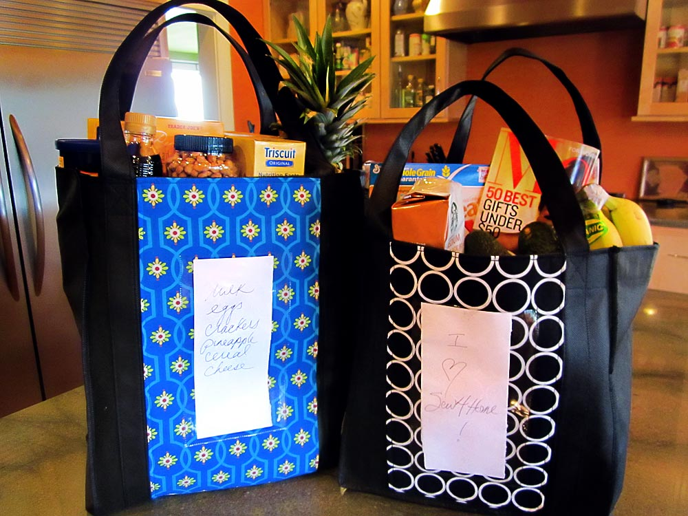 Re-Make & Re-Use: Up-cyled Cloth Grocery Bags - Stronger ...