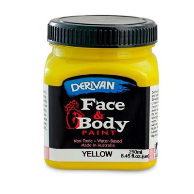 Discount Party Supplies Non Toxic face & Body Paint Yellow