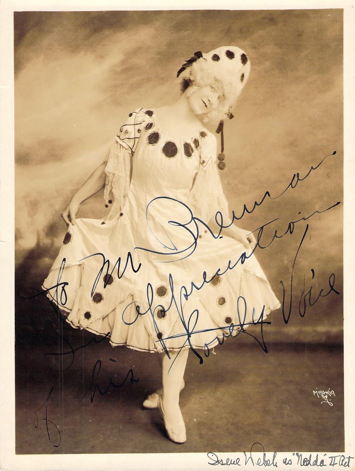 Irene Welsh signed photo