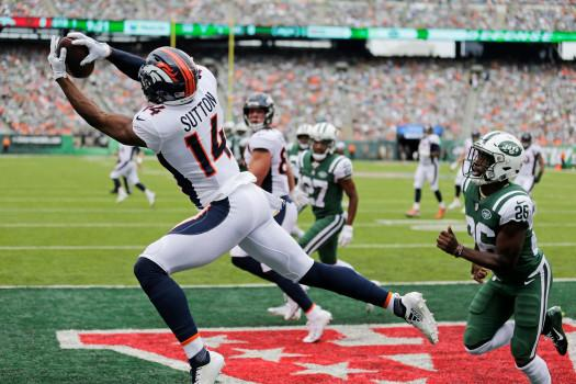 Image result for courtland sutton touchdown