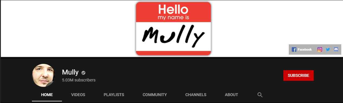 Mully YouTube Channel