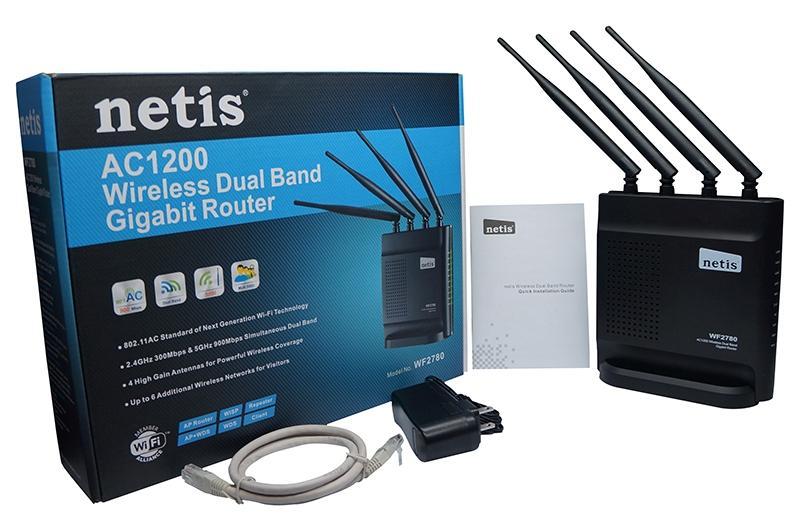 Потужний і дешевий гігабітний маршрутизатор NETIS WF2780