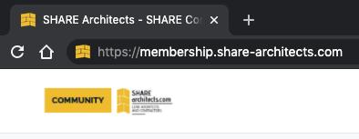 Share Architects custom domain