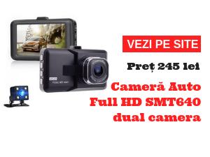 Camera Auto Full HD SMT640 dual camera