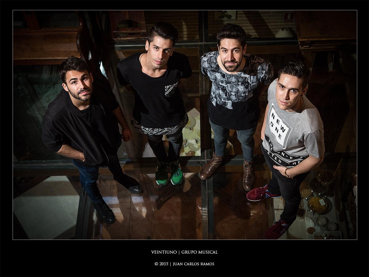 Grupo musical veintiuno por Juan Carlos Ramos fotógrafo toledo