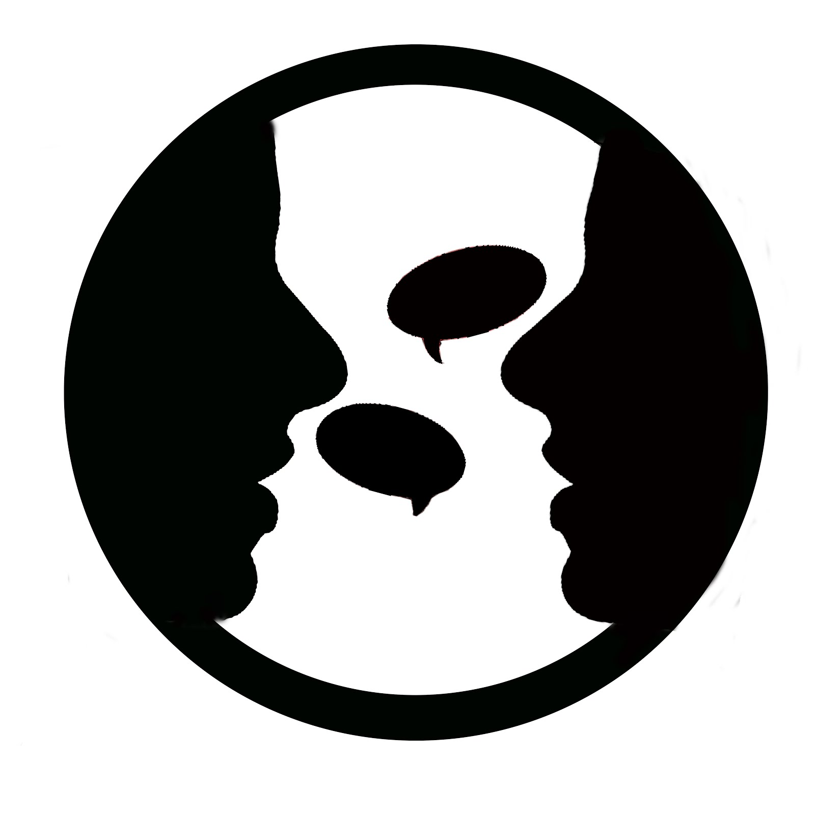 File:Two-people-talking-logo.