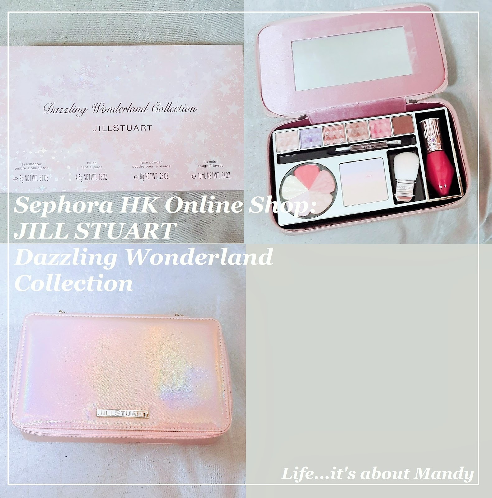 [Sephora HK Online Shop] JILL STUART Dazzling Wonderland Collection