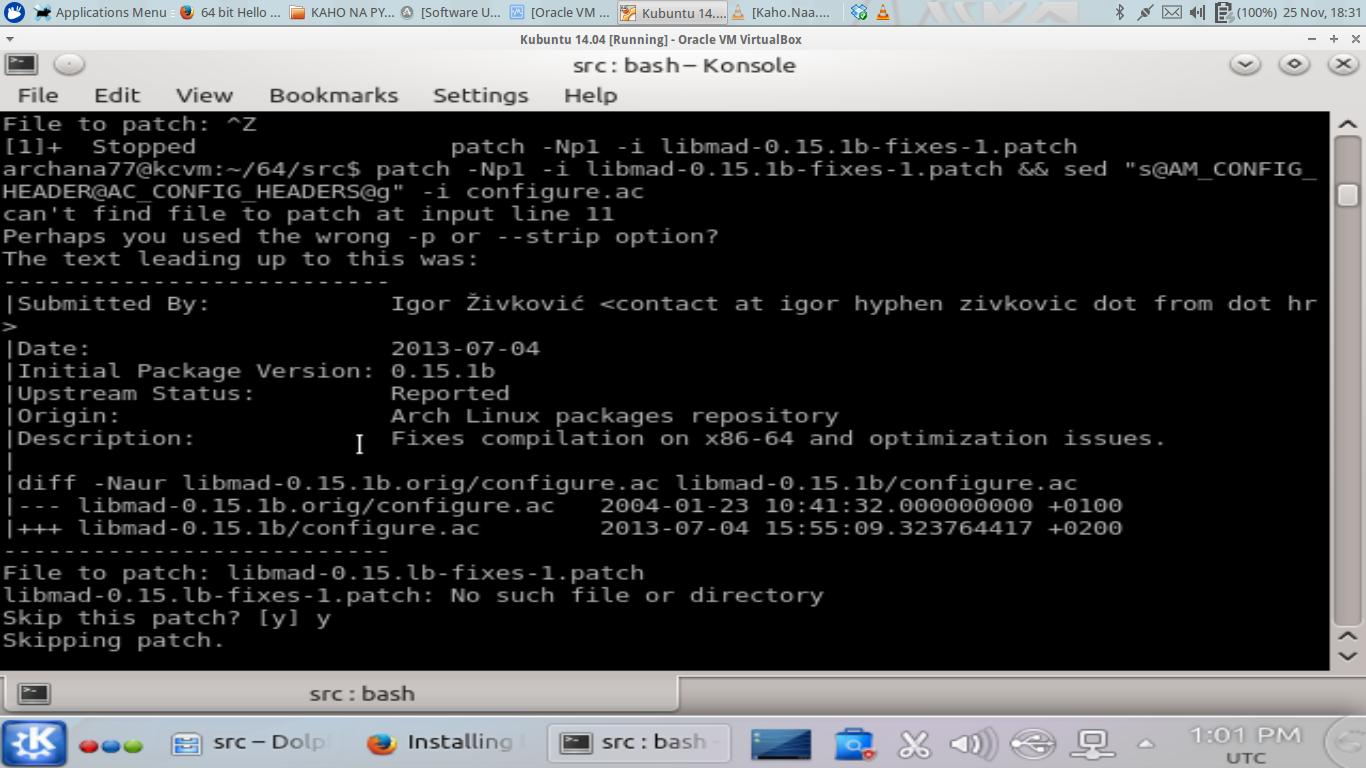linux install patch file