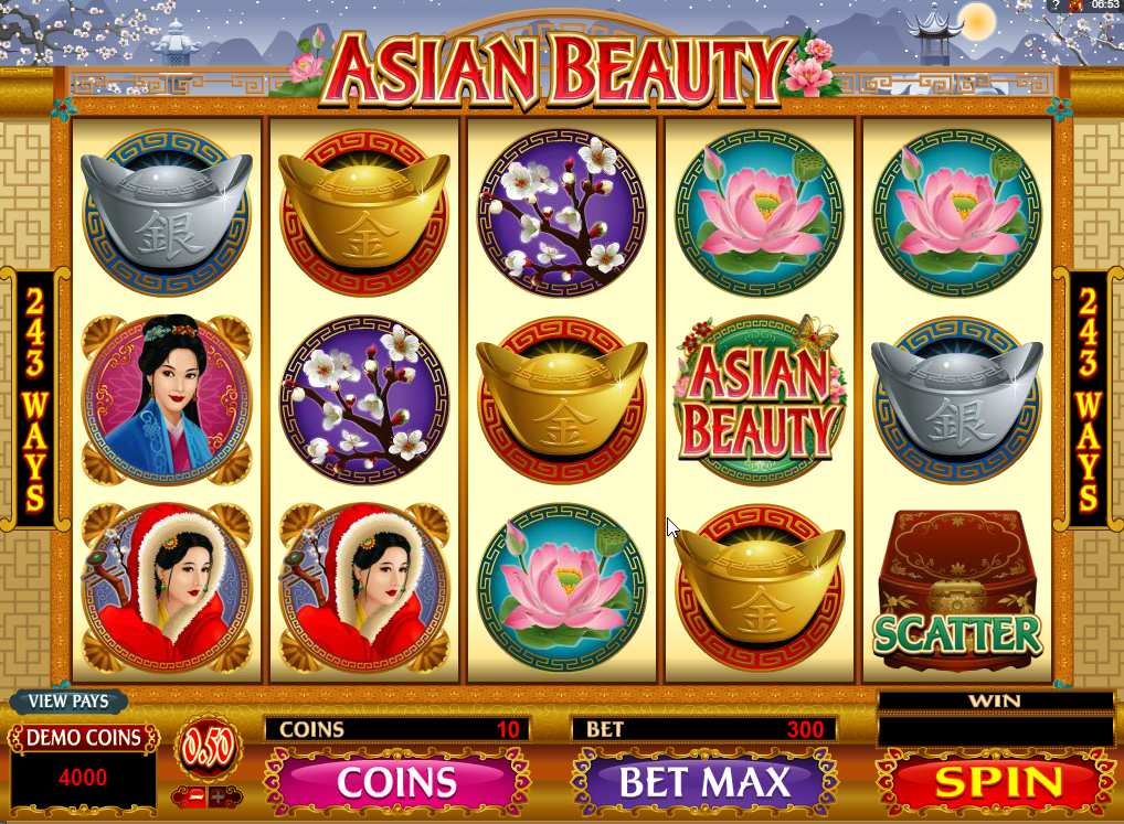Asian Beauty Slots Machine Review