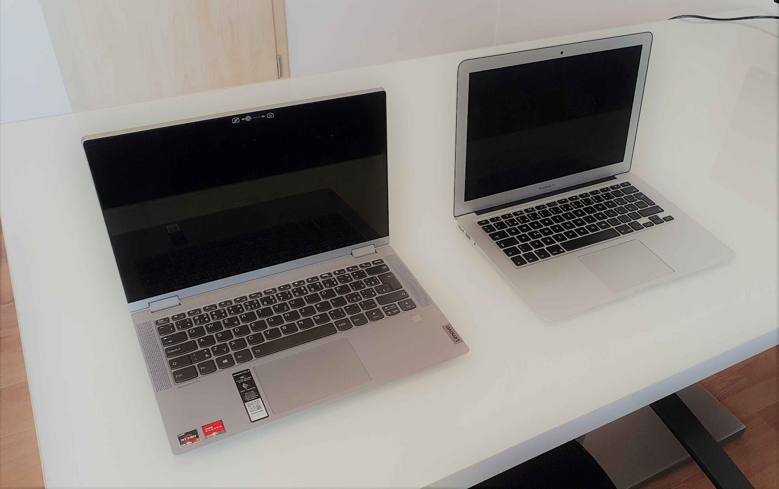 Srovnání Lenovo vs Mac