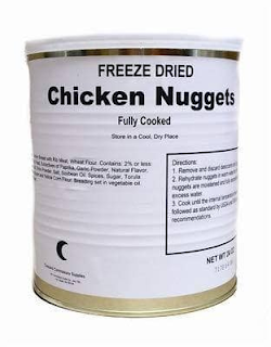Canned Military Surplus Chicken