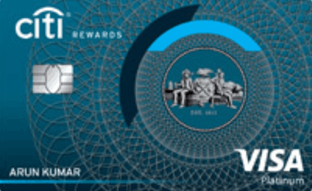 Citibank Rewards Domestic Credit Card