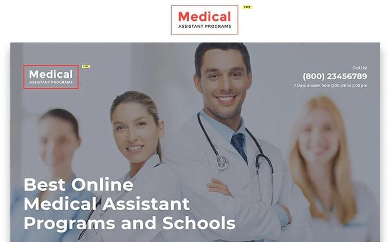 лучший бесплатный шаблон темы ботстрапа веб-сайт медицинская клиника фармацевтический доктор