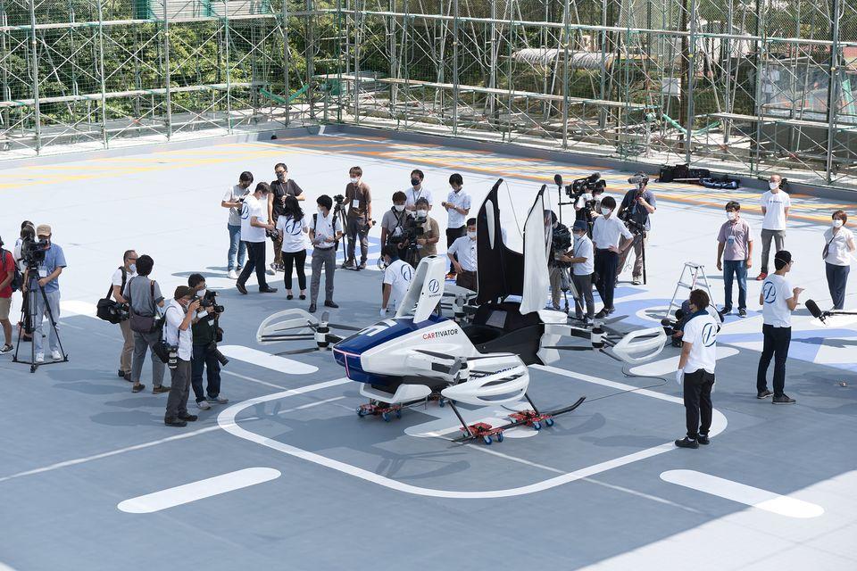 SkyDrive SD-03公開有人飛行試験成功。 2020年8月25日