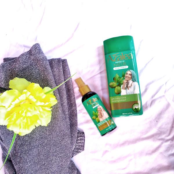 Azalea Shampo dan Azalea Hair Mist untuk Perawatan Wanita Berhijab