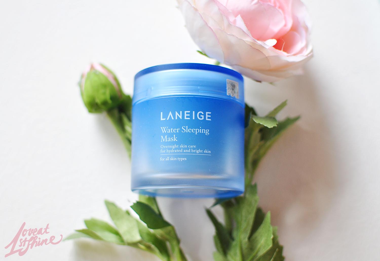 Mặt nạ ngủ của Laneige sẽ giúp giữ ẩm cho làn da khô vào mùa đông của bạn