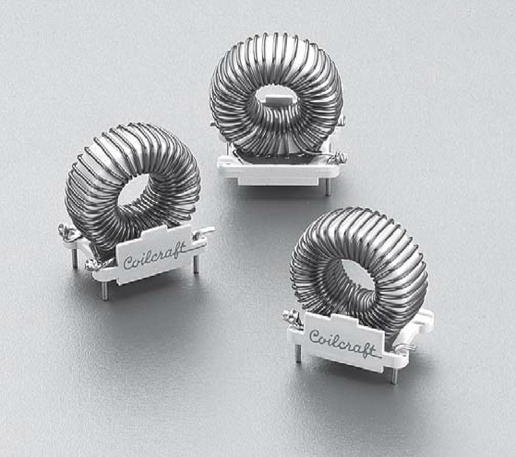 coilcraft toroid inductors pcb design Ungewöhnliche 3D-Formen: Die 3D-Donutmodelle Coilcraft Toroid Inductors.