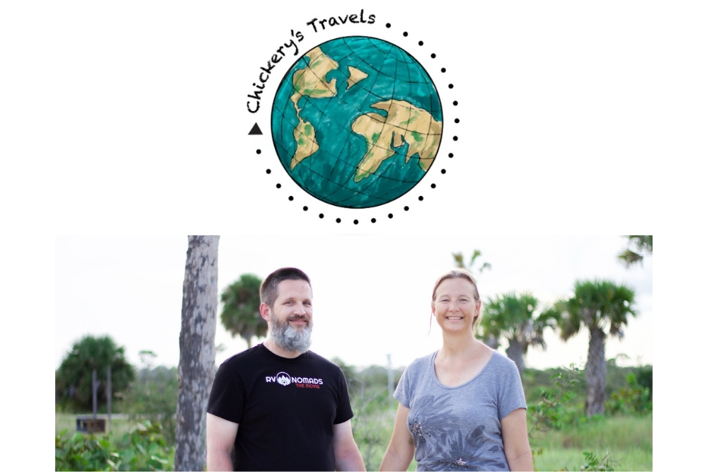 Sean and Julie Chickery of Chickerys Travels