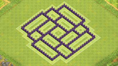 Best Clash Of Clans Level 7 Town Hall Layout