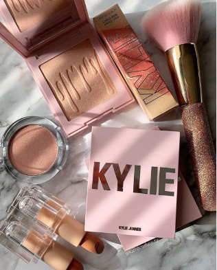 Kylie Beauty makeup products