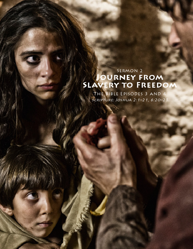 The Journey From Slavery To Freedom