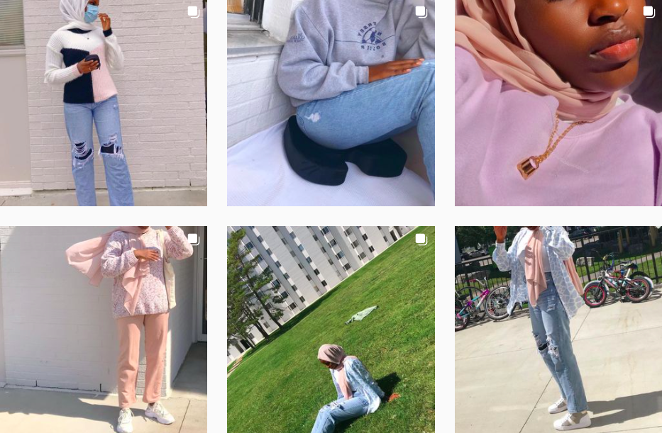 Aliyah Adewuyi   Teenage influencer representing the Ontario clothing and lifestyle scene