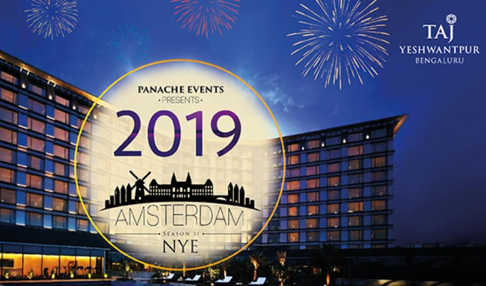 Amsterdam's new year party in Bangalore