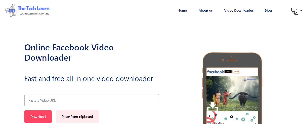 facebook video downloader tool