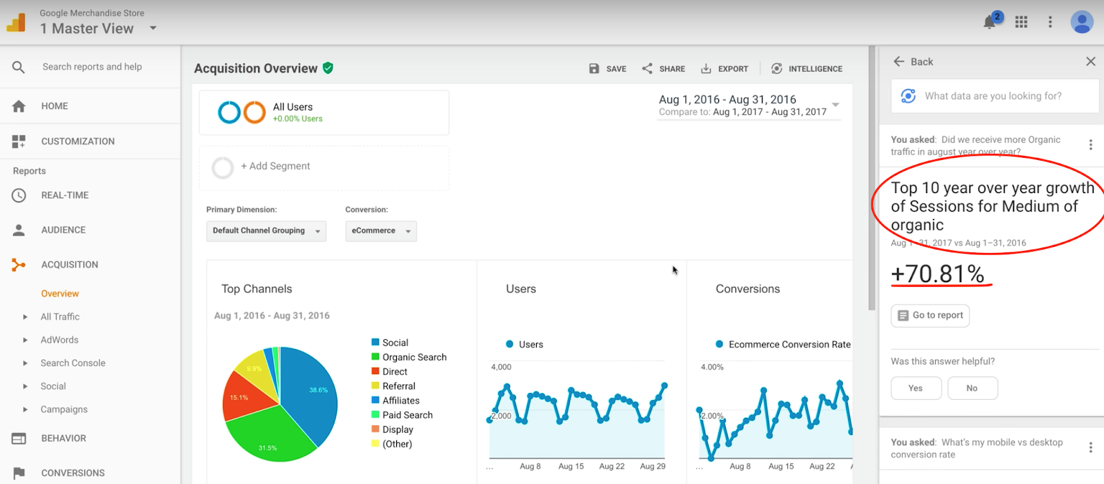 How to Use Google's New 'Analytics Intelligence' for Insights [Video] | Social Media Today