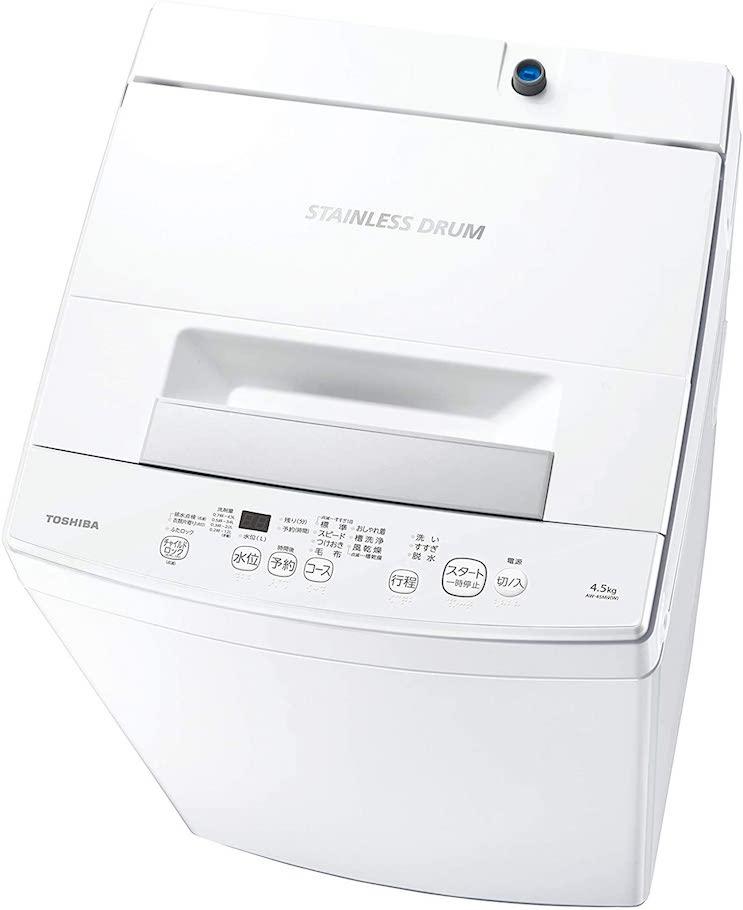 東芝 洗濯機 4.5kg