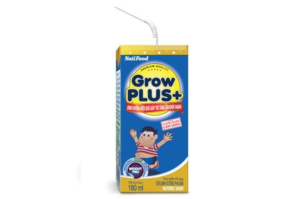 GROWPLUS+ xanh – dinh dưỡng giúp trẻ tăng cân khỏe mạnh
