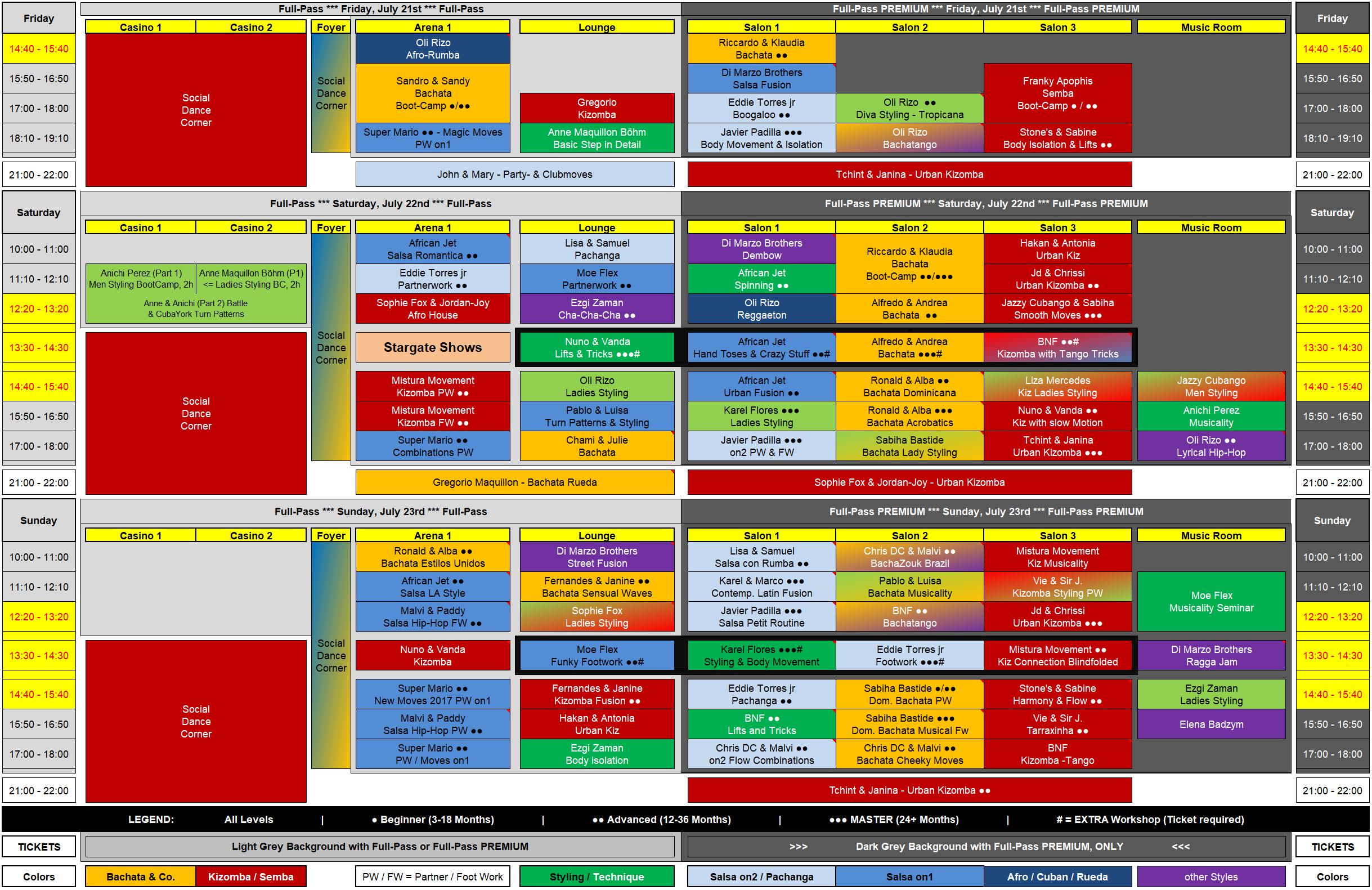 Frankfurt Summer 2017 Workshop Plan 2017-05-27 DRAFT