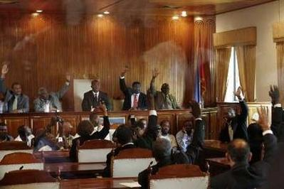 Image result for haitian senate photos