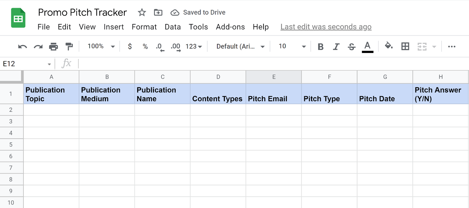 How to land author interviews - Promo pitch tracker