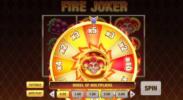 slot fire joker