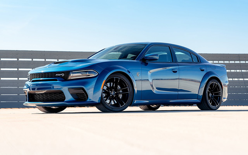 Dodge Charger azul