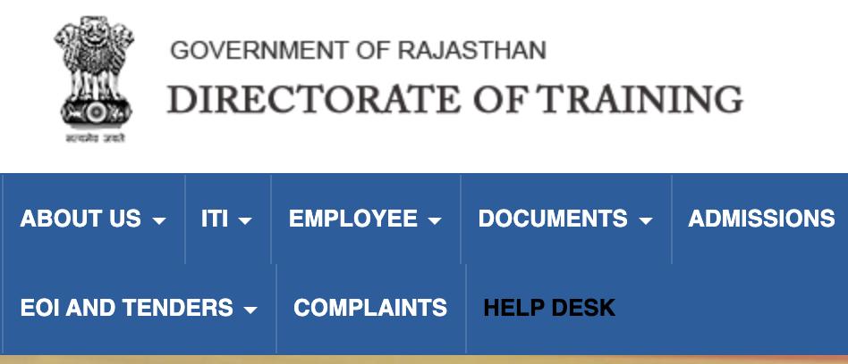 DTE ITI Rajasthan