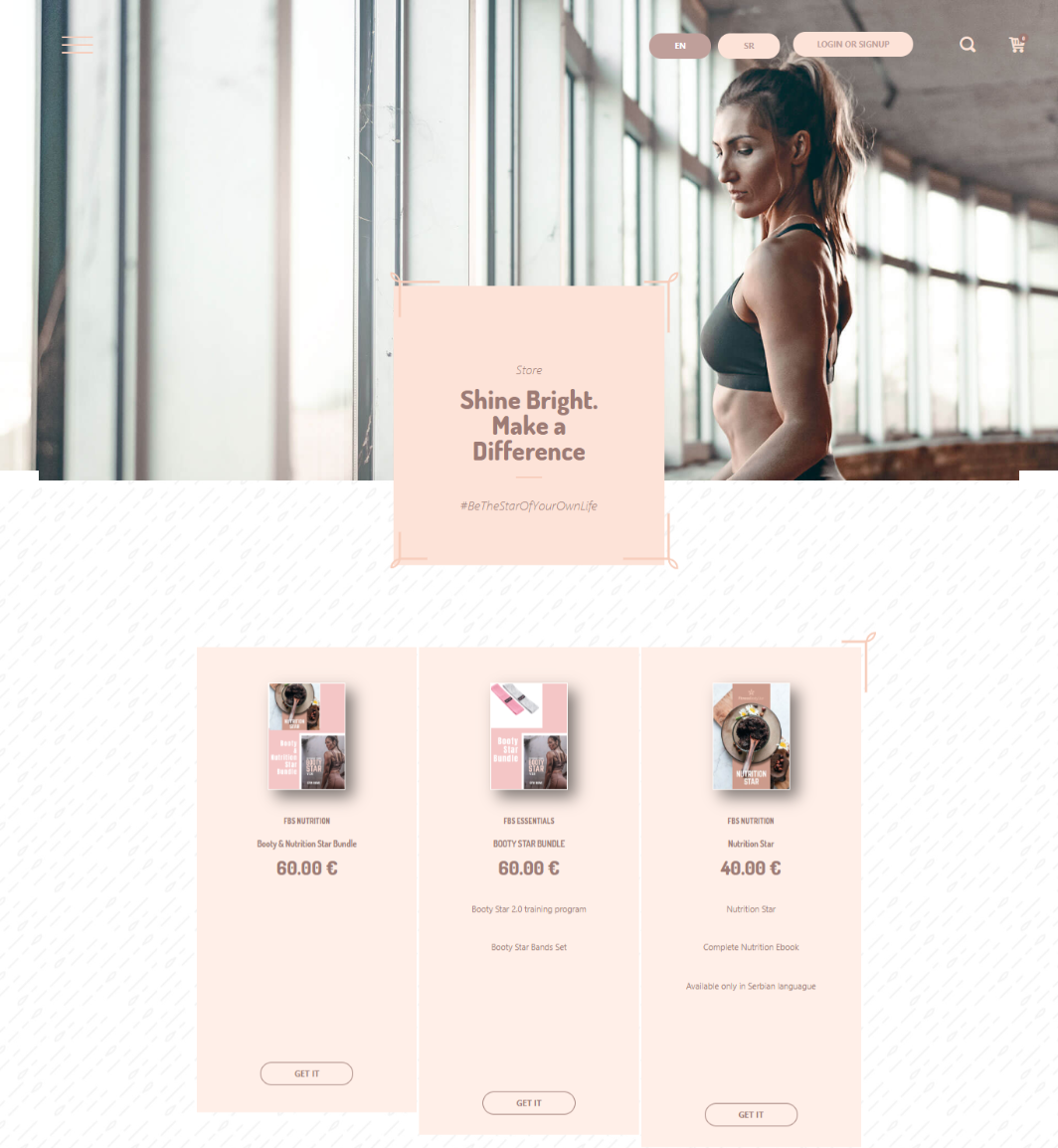How to Build a Fitness Website: activity log